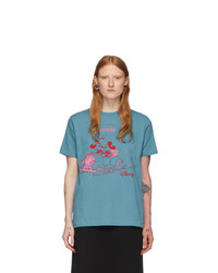 Gucci Blue Disney Edition Mickey Mouse T Shirt