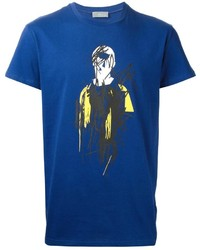 Christian Dior Dior Homme Abstract Print T Shirt