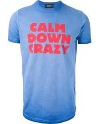 DSquared 2 Calm Down Crazy T Shirt
