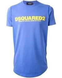 DSquared 2 Logo Print T Shirt