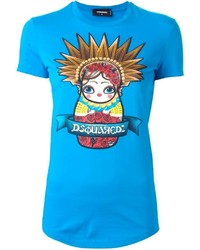 Dsquared2 Matrioska Print T Shirt