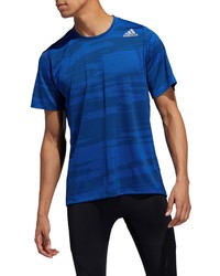 adidas Freelift Winterize Jacquard T Shirt