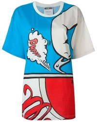 Moschino Cartoon Print T Shirt