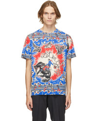 Paul Smith Multicolor Jersey Cowboy T Shirt