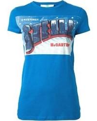 Stella McCartney Festive Logo Print T Shirt