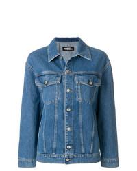 Jeremy Scott Viva Print Denim Jacket