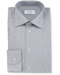 Blue Print Dress Shirt