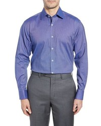 English Laundry Pattern Regular Fit Dress Shirt