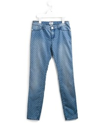 Armani Junior Heart Print Jeans