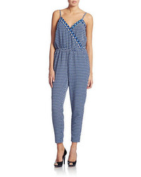 Laundry by Shelli Segal Printed Crop Jumpsuit