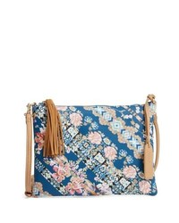 Sole Society Printed Faux Leather Pouch
