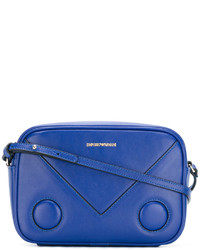 Blue Print Leather Crossbody Bag