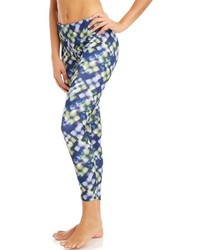 Bally Total Fitness Printed Workout Leggings