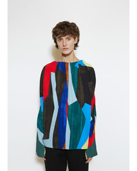 Marni Abstract Print Blouse