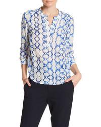 Long sleeve silk blouse medium 3650076