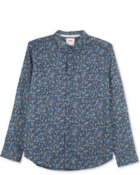 Levi's Lyle Floral Print Long Sleeve Shirt