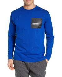 adidas Originals Adidas Eqt Long Sleeve Logo T Shirt