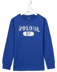 Ralph Lauren Kids Printed T Shirt