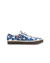 Marni Sailboat Printed Sneakers