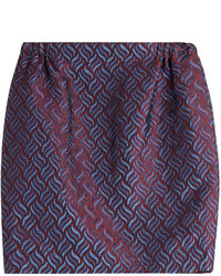 Golden goose printed knit mini skirt medium 727719