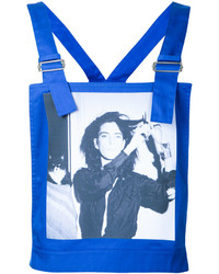 Raf Simons Robert Mapplethorpe Photo Print Dungaree Top