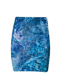 Even&Odd Mini Skirt Blue