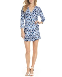 Lilly Pulitzer Karlie Wrap Style Romper