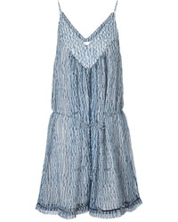 Shibori porcelain quilted playsuit medium 112376