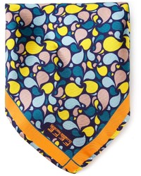 Fef petals print pocket square handkerchief medium 171484