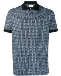Salvatore Ferragamo Geometric Print Polo Shirt