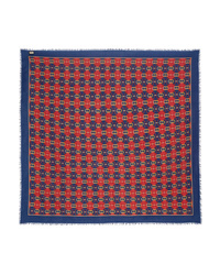 Gucci Printed Wool And Scarf