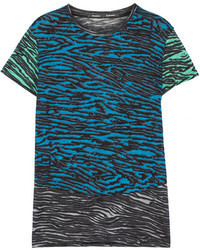 Printed cotton t shirt medium 77855