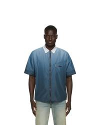 Off-White Blue Gradient Rivel Trail Shirt