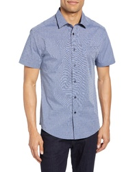 Vince Camuto Hacking Slim Fit Pocket Shirt