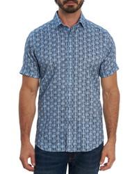 Robert Graham Mcglown Short Sleeve Button Up Shirt