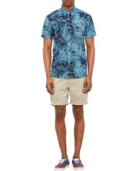 Saturdays Surf NYC Mineral  Print Short Sleeve Shirt