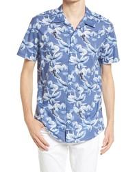 Selected Homme Regular Fit Short Sleeve Button Up Shirt