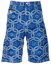 Comme des Garcons Junya Watanabe Comme Des Garons Man Printed Bermuda Shorts