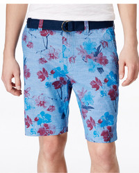 American Rag Floral Print Flat Front Shorts Only At Macys