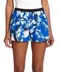Clover Canyon Floral Print Shorts