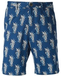 MSGM Pineapple Print Bermuda Shorts