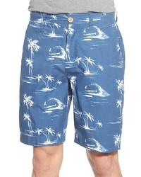 Tropical print shorts medium 606012