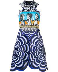 Mary Katrantzou Chimera Scalloped Dress