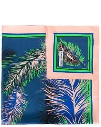 Emilio Pucci Feather Print Scarf
