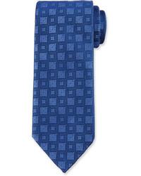 Charvet Box Print Silk Tie