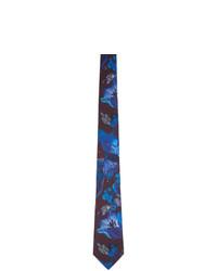 Paul Smith Navy Beetle Botanical Tie