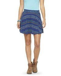 Printed Skater Skirt Mossimo Supply Cotm