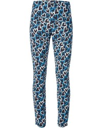 Ungaro emanuel all over heart print trousers medium 814232