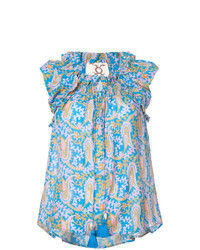 Figue Gianna Paisley Print Blouse