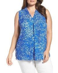 Vince Camuto Plus Size Print Shell